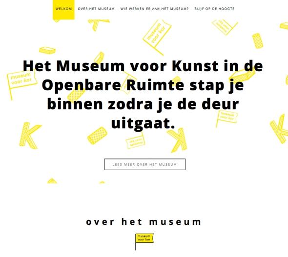 WebsiteMuseumvoorKOR